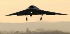 Le drone NEURON avec le porte-avions Charles-de-Gaulle !