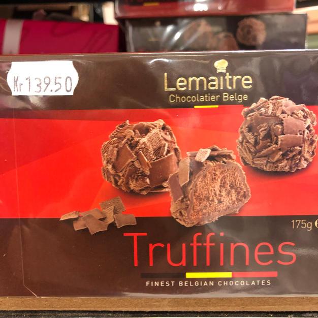 Sjokolade-trøfler