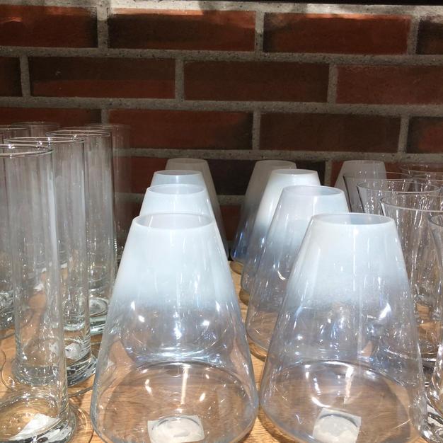 Glassvase dråpe