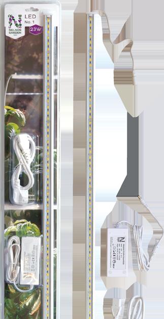 Plantelys med adapter 15 W 85 cm