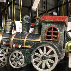 Glitrende lokomotiv