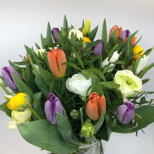 Tulipaner og ranunkler