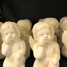 Sittende engel
