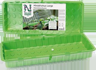 Minidrivhus med lokk, stor