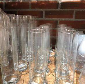 Glassvase sylinder