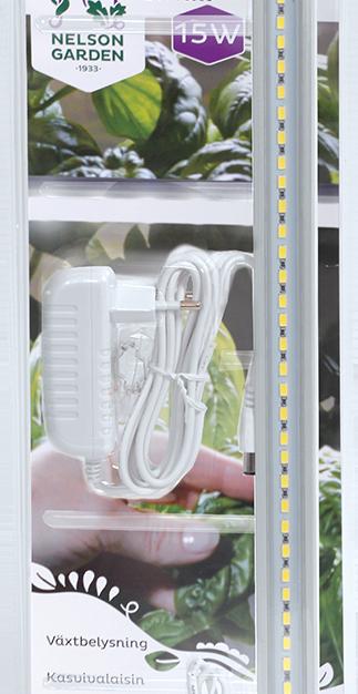 Plantelys med adapter 15w 39cm