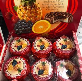 Sjokolade,rom og tropisk frukt