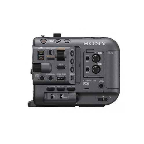 Sony FX6 Digital Cinema Camera Full Frame Professional (Boitier nu)