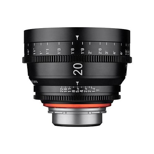 Samyang 20mm T1.9 FF Cine Nikon F