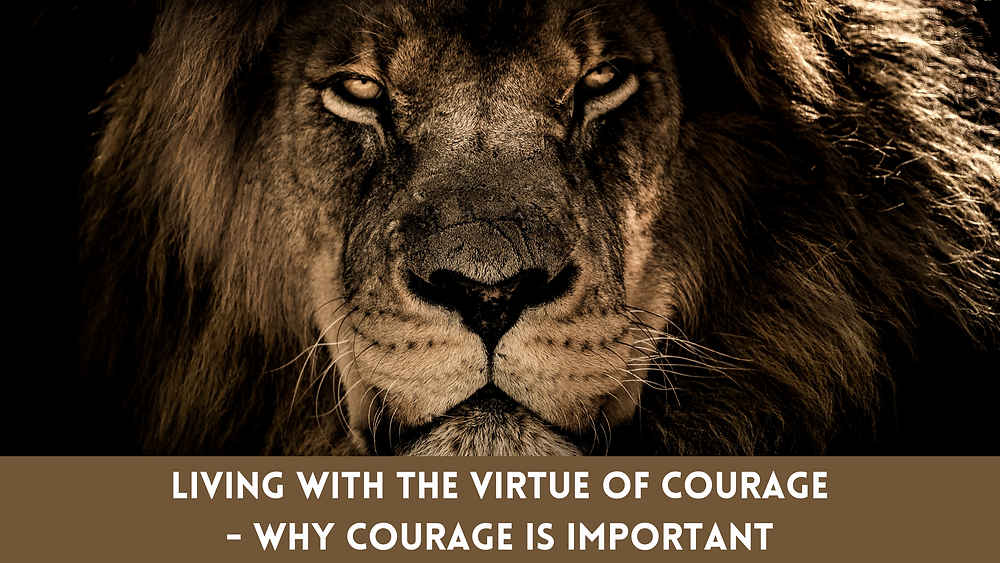The Virtue of Courage - Why Courage is Important