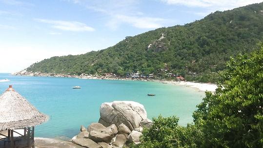 Haad Yuan beach Koh Phangan Thailand