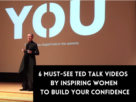 6 Must-See TED Talk Videos By Inspirational Women To Build Your Confidence