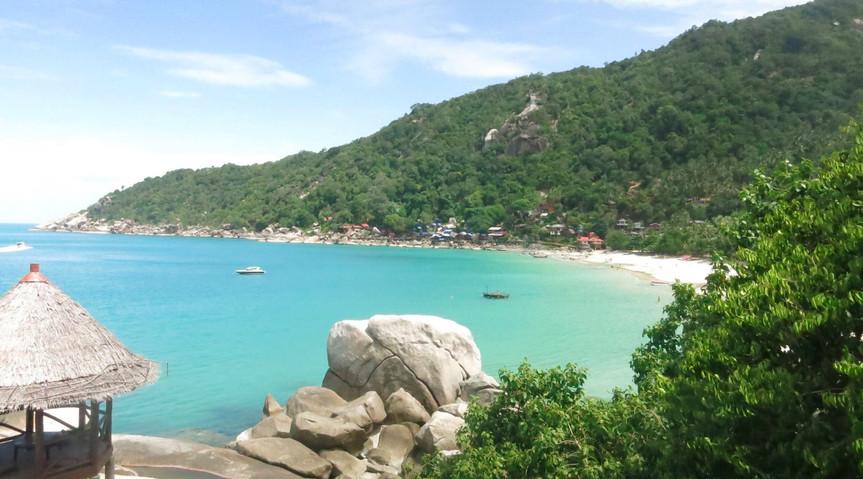 Haad Yuan beach, Koh Phangan, Thailand