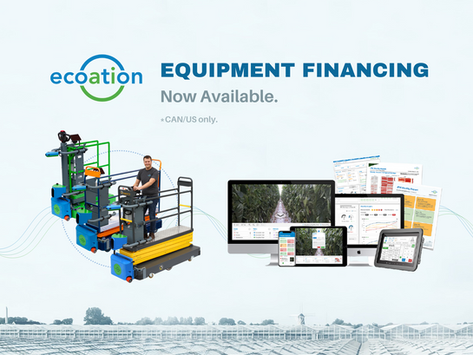 ecoation Accelerates Access to OKO Platform Through New Equipment Financing Options