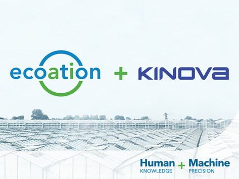 ecoation and Kinova® Announce Official Partnership to Advance Horticulture Pest & Disease Treatment