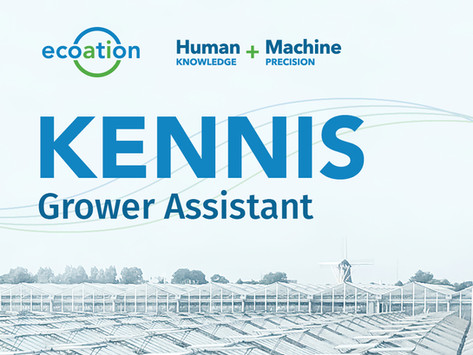 Ecoation Announces KENNIS Grower Assistant, a Newly Patented Human+Machine AI / IA Platform