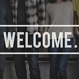 Welcome Greeting Welcoming Launch Availa