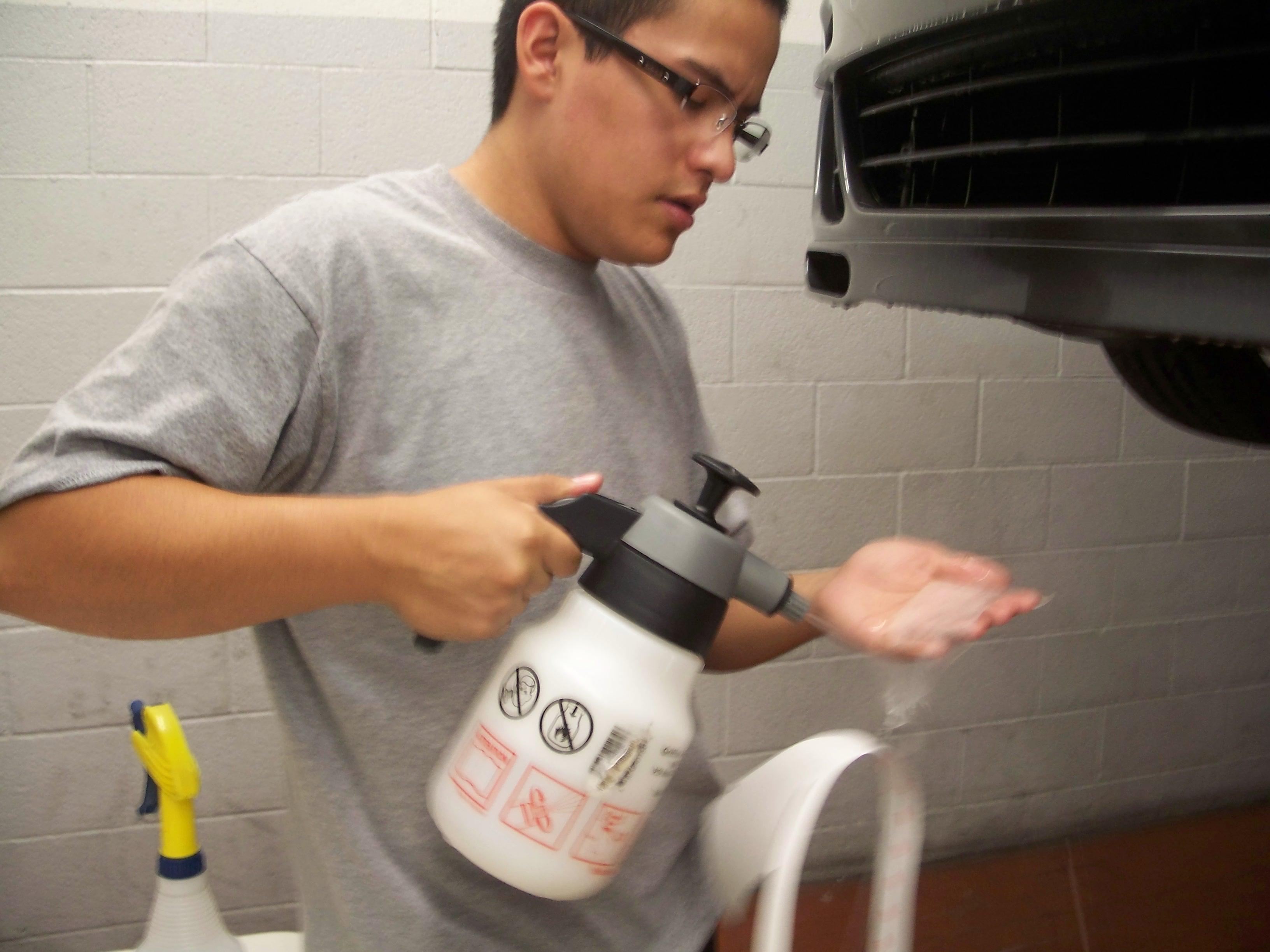 Ruben Installing PPF