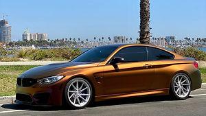 BMW M3, Vinyl Wrap, Avery, Satin Rising sun,