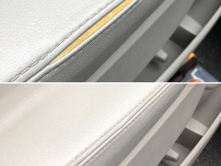 フォードエクスプローラー 内装とシートの破れ補修