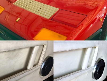 フェラーリ512BB内装クリーニング