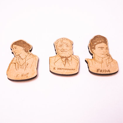 Great artists pins