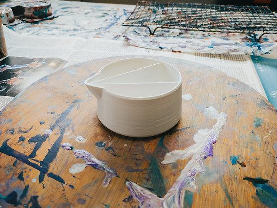 8 Oz (250ml) Acrylic Pour Split Cup | 2, 3, 4 or 6 Compartments Sale