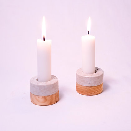 Upcycling Candle Holder (pack of 2)