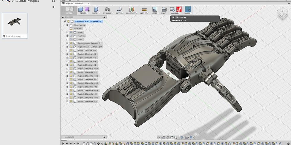 Modelação 3D - Fusion360