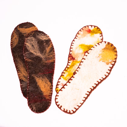 Therapeutic Insoles in Wool