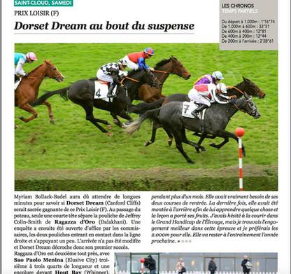 Dorset Dream nous a fait rêver à nouveau!
