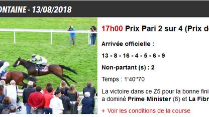Victoire à Clairefontaine
