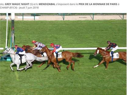 Victoire à Longchamp!