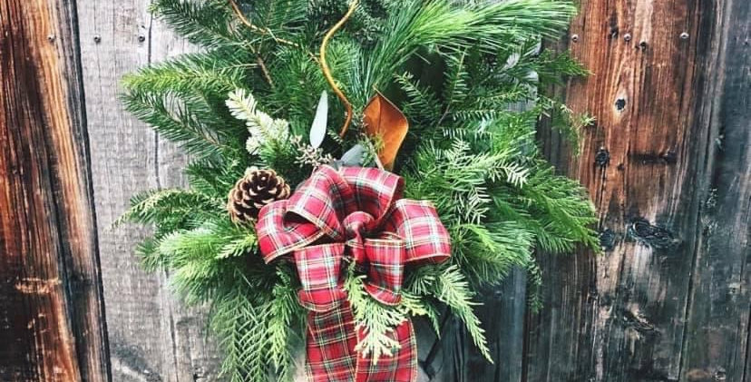AT HOME workshop kit - Outdoor Christmas Planter