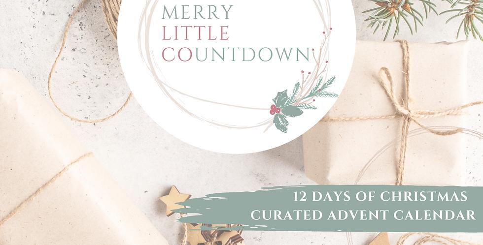 Merry Little Countdown - 12 days of Christmas Advent Calendar