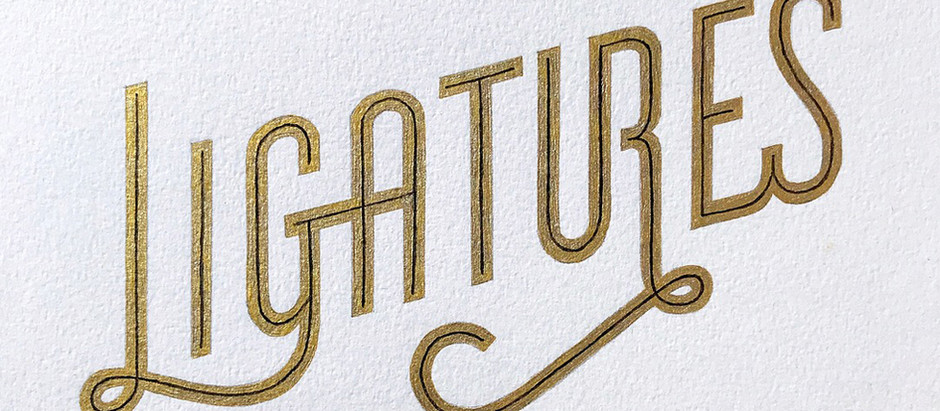 The beauty of ligatures.