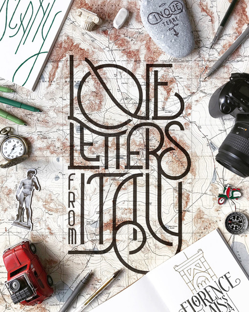 Writing for Travel & Lettering