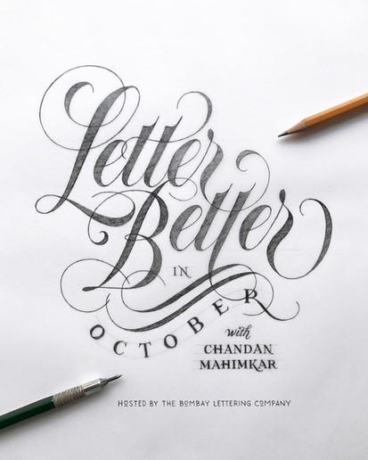 October Lettering Workshops