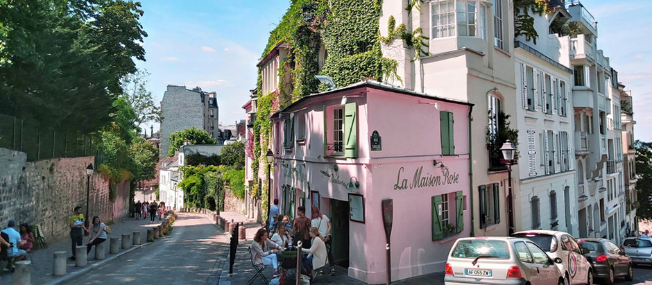 Montmartre: The bohemian art district of Paris.