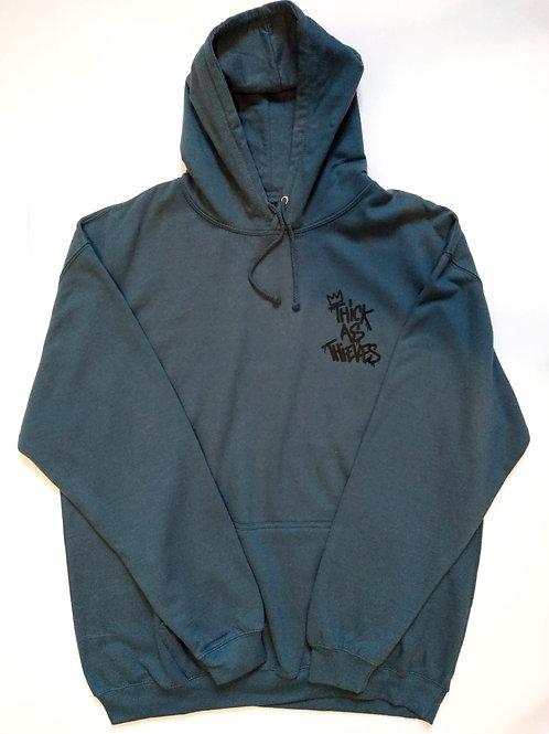 XXL Steel blue Thieves hoodie