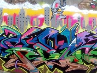 Real1 & K9 mural collabo in Lurgan