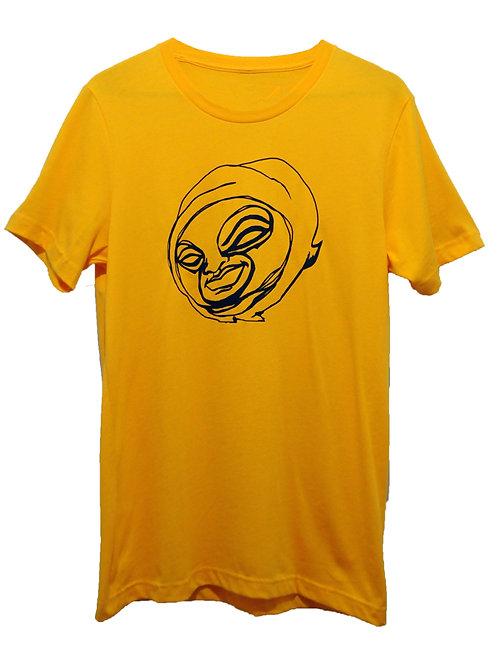 Golden yellow thief tee