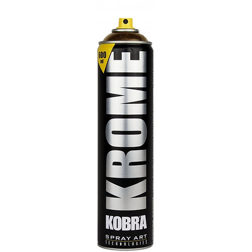 Kobra Krome 600ml Spray Paint