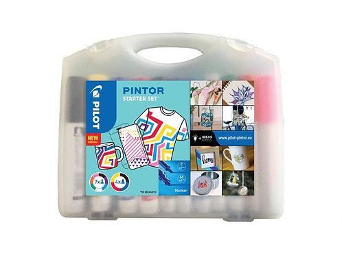 Pilot Pintor Starter Set - Assorted Colours - Fine/Medium Tip