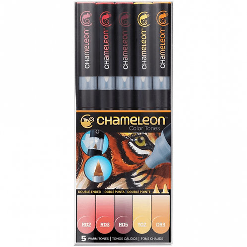 Chameleon Color Tones 5 Warm Tones