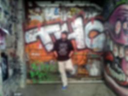 graffiti artist REAL1