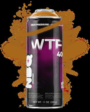 NBQ WTF spray paint