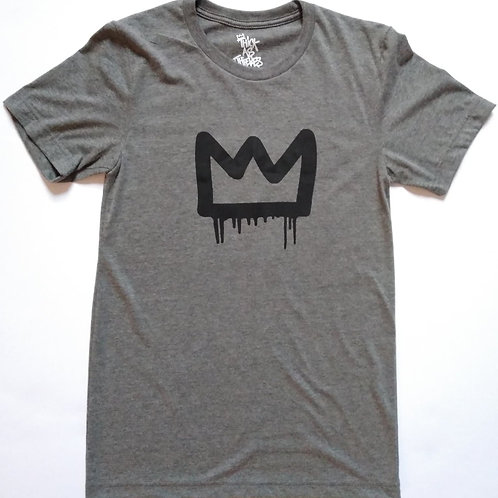 SMALL thieves charcoal crown tee