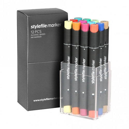 Stylefile Marker 12 Set B