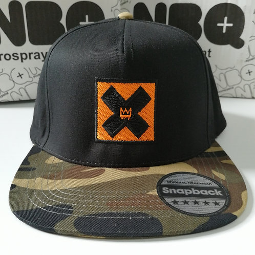 Thieves Camo and black snapback